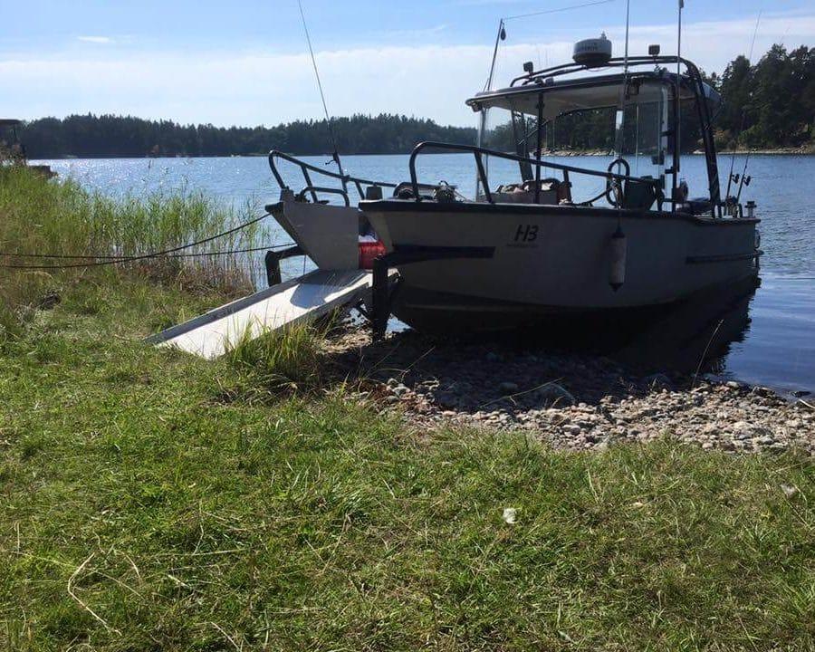 Läs om den unika och tillgängliga fiskebåten Fred25